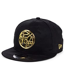New Era Philadelphia 76ers Stealth Metal 9FIFTY Snapback Cap