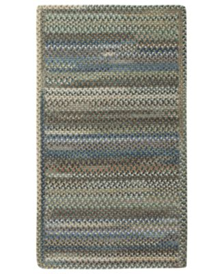 Area Rug, American Legacy Rectangle Braid 0210-280 Pine Forest 8' x 11'