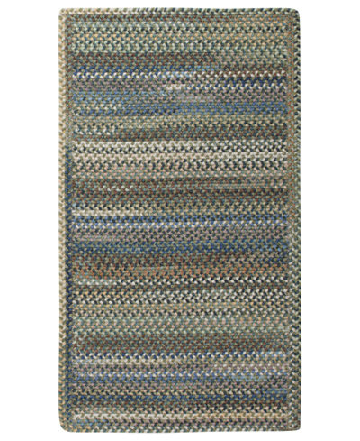 Capel Area Rug, American Legacy Rectangle Braid 0210-280 Pine Forest 5' x 8'