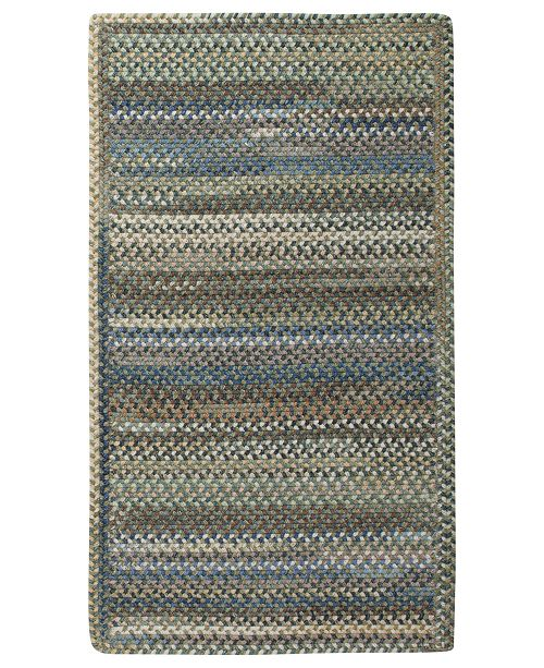 Capel Rugs, American Legacy Rectangle Braid 0210-280 Pine Forest