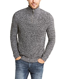 INC Men's Quarter-Zip Sweater, Created for Macy's