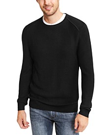 INC Men's Sway Textured Knit Sweater, Created For Macy's