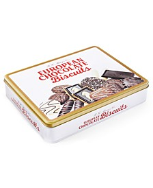 European Chocolate Biscuit Tin