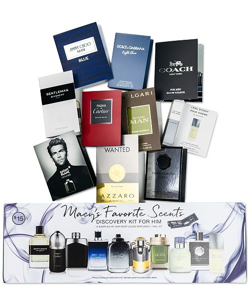 Created For Macy's 11-Pc. Fragrance Discovery Set For Him