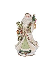 Fitz & Floyd Forest Frost Santa Figurine