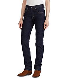 Lauren Ralph Lauren Western Straight-Leg Jeans