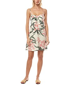 Juniors' Naila Floral-Print Tank Dress