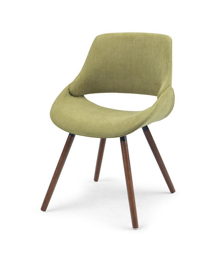 Simpli Home - Malden Dining Chair, Quick Ship