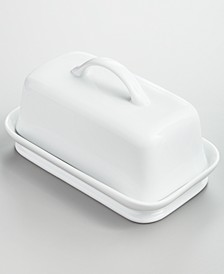 Whiteware Butter Dish, Created for Macy's
