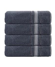 Enchante Home Enchasoft Turkish Cotton 4-Pc. Bath Towel Set
