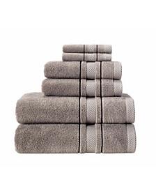 Enchante Home Turkish Cotton 6-Pc. Towel Set