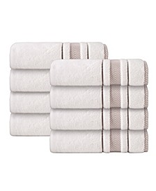 Enchante Home Turkish Cotton 8-Pc. Hand Towel Set