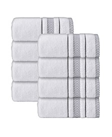 Enchante Home Turkish Cotton 8-Pc. Wash Towel Set