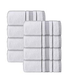 Enchante Home Enchasoft Turkish Cotton 8-Pc. Wash Towel Set