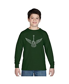 Boy's Word Art Long Sleeve - Amazing Grace