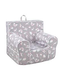 Kangaroo Trading Co. Classic Kid's Grab-N-Go Chair, Unicorn Dreams