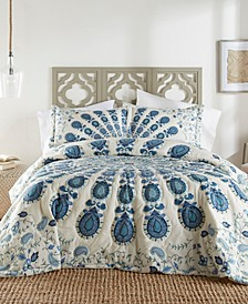 Nadia 3 Piece Quilt Set - Queen