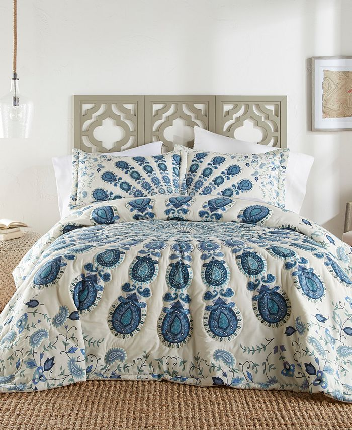 Bowery Bodega - Nadia 3PC Quilt Set - Queen