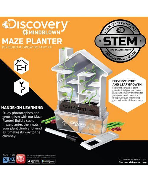 Discovery #MINDBLOWN Discovery MindBlown Kids DIY Maze Planter- STEM