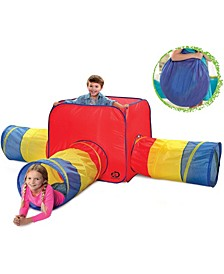 Toy Tent Tunnels 3 in 1