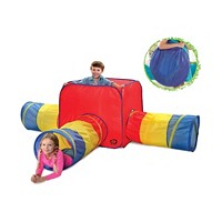 Discovery Kids Toy Tent Tunnels 3 in 1