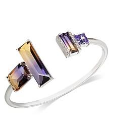 Kate Spade New York Pavé & Ombré Crystal Cuff Bracelet
