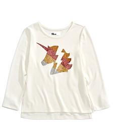 Epic Threads Little Girls Glitter Unicorn T-Shirt, Created for Macy's
