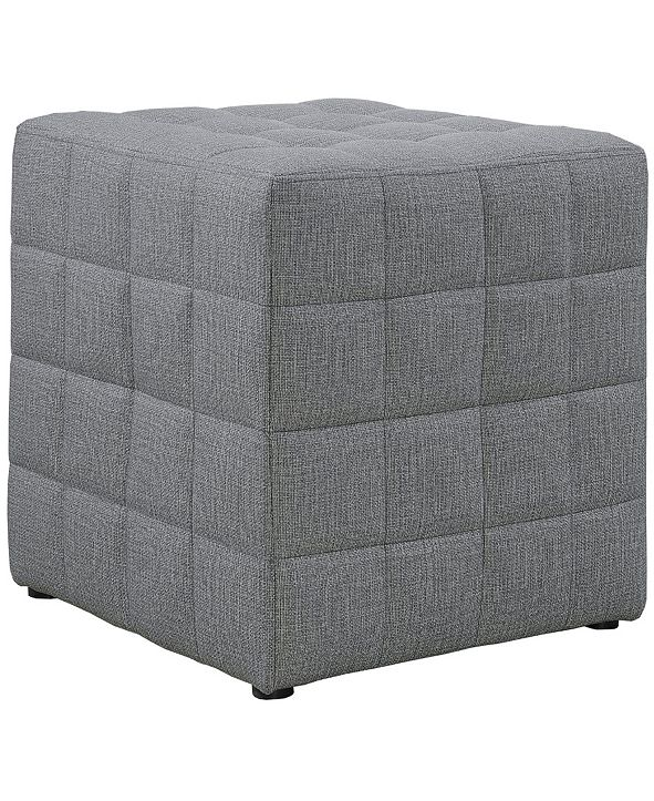 Monarch Specialties Polyester Ottoman
