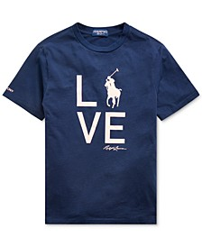 Big Boys Pink Pony Love T-Shirt