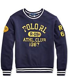 Big Boys Athletic Club Knit Sweatshirt