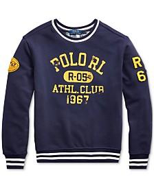 Polo Ralph Lauren Big Boys Athletic Club Knit Sweatshirt