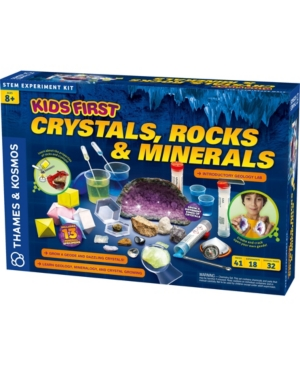 Thames & Kosmos Kids First - Crystals, Rocks, and Minerals Kit