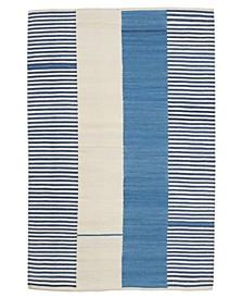 Aryn Stripe LRL7310B Pool 4' X 6' Area Rug