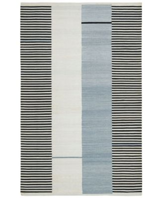 Aryn Stripe LRL7310C Slate 9' X 12' Area Rug