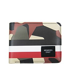 Members Only Camouflage Printed Wallet
