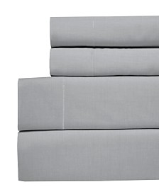 Westport Yarn Dyed Chambray California King 4-pc Sheet Set, 200 Thread Count 100% Cotton