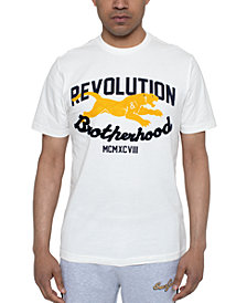 Sean John Men's Revolution & Brotherhood Graphic T-Shirt