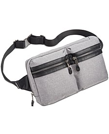 Men's Double-Pocket Waist Bag