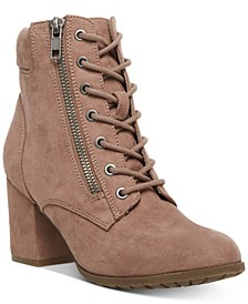 Tell Lace-Up Booties