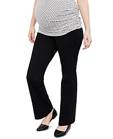 The Cady Secret Fit Belly Ponte Bootcut Pants