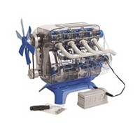 Discovery Mindblown Toy Kids Model Engine Kit