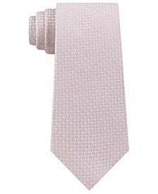 Men's Slim Diamond Silk Tie