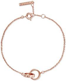 Classics Double Ring Charm Bracelet