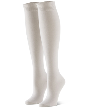 Hue Knits WOMEN'S 3-PK. FLAT-KNIT KNEE SOCKS