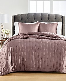 Tufted Satin King Quilt, Created for Macy's