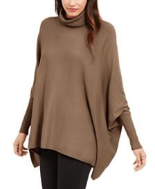 Alfani Turtleneck Poncho Sweater, Created for Macy's
