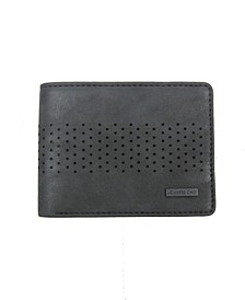 Washed Semi Perforated Wallet