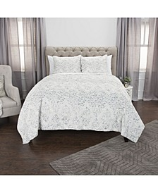 Riztex USA Astrid Queen 3 Piece Quilt Set