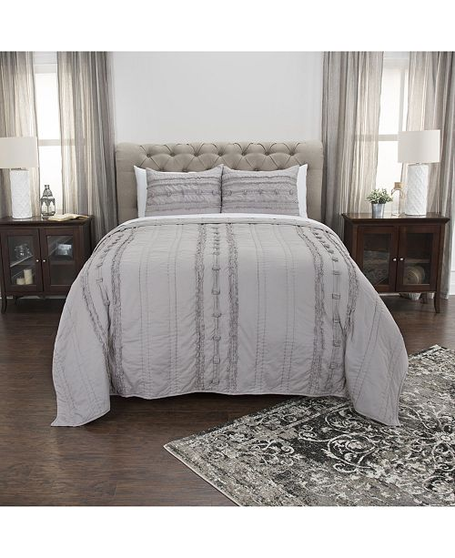 Rizzy Home Riztex USA Hattie King Quilt