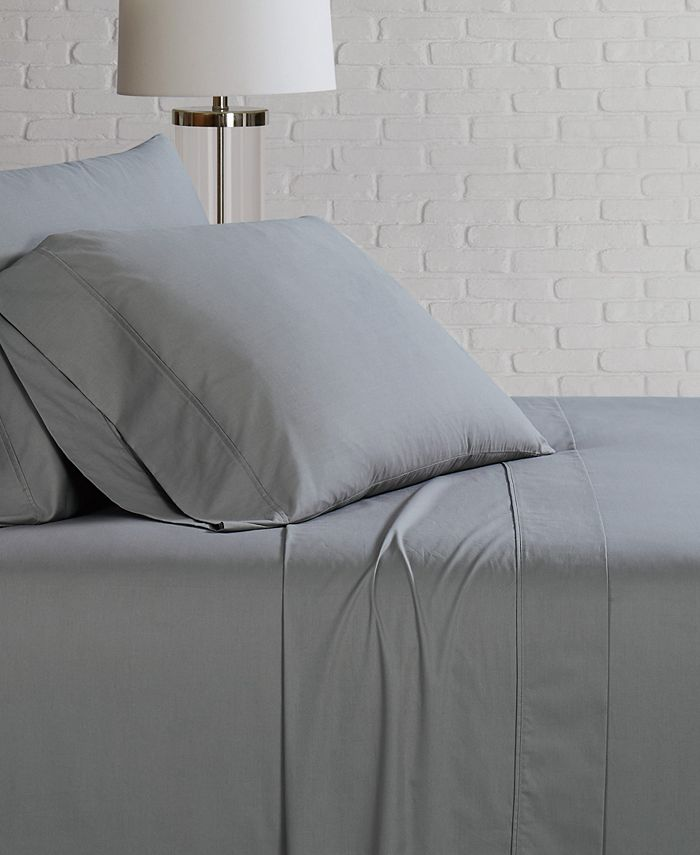Brooklyn Loom - Solid Cotton Percale Queen Sheet Set